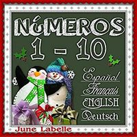 NUMEROS 1 - 10 (ESP / FRA / ING / EUS)