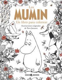 Mumin, Los - Un Libro Para Colorear - Tove Jansson