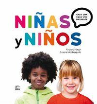 Niñas Y Niños - Cada Una, Cada Uno, Diferente - Aingeru Mayor / Susana Monteagudo