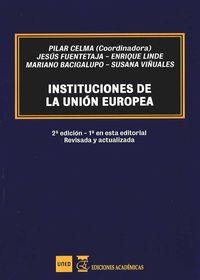 INSTITUCIONES DE LA UNION EUROPEA