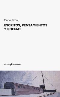 Escritos, Pensamientos Y Poemas - Mario Sironi