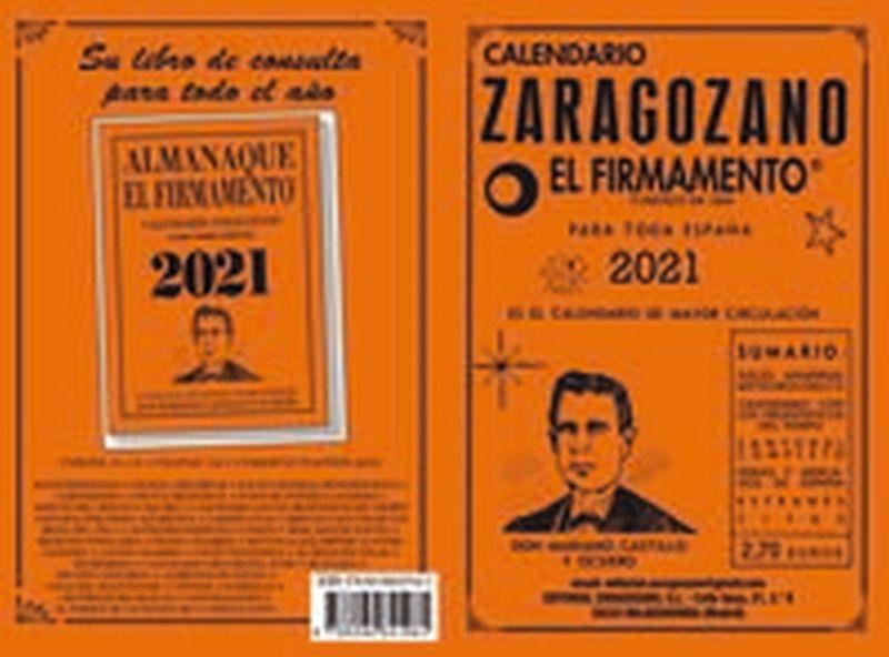 2021 - CALENDARIO ZARAGOZANO - EL FIRMAMENTO