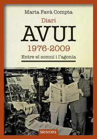 Diari Avui (1976-2009) - Maria Fava Compta