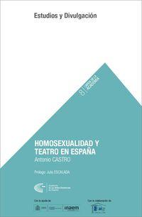 HOMOSEXUALIDAD Y TEATRO EN ESPAÑA