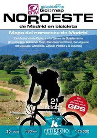 (2 ed) noroeste de madrid en bicicleta - mapa del noroeste de madrid - Bernard Datcharry Tournois / Valeria Horvath Mardones