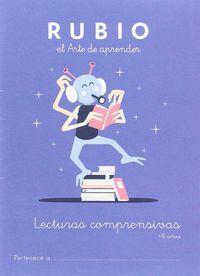LECTURAS COMPRENSIVAS RUBIO +6 AÑOS