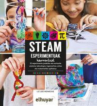 Steam Esperimentuak Haurrentzat - Liz Lee Heineckte