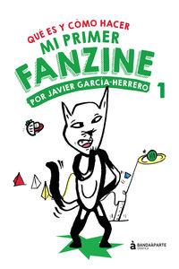 mi primer fanzine 1 - Javier Garcia Hererro