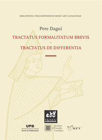 TRACTATUS FORMALITATUM BREVIS - TRACTATUS DE DIFFERENTIA