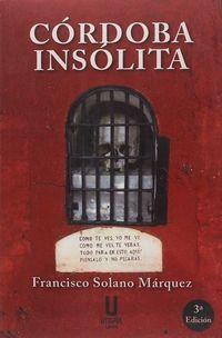 (3 ED) CORDOBA INSOLITA