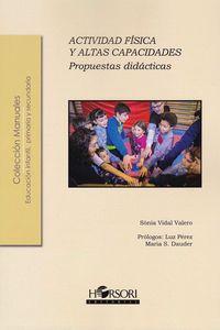 ACTIVIDAD FISICA Y ALTAS CAPACIDADES - PROPUESTAS DIDACTICAS