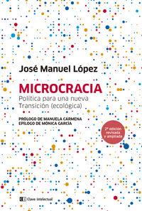 MICROCRACIA - POLITICA PARA HACER UN PAIS DESDE SU GENTE