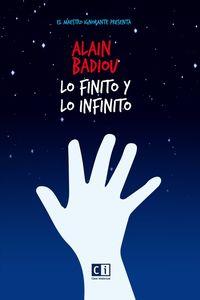 lo finito y lo infinito - Alain Badiou