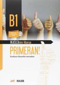 primeran! b1 (+lan koad+dvd) - Batzuk
