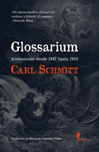 GLOSSARIUM - ANOTACIONES DESDE 1947 HASTA 1958