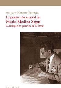 La produccion musical de mario medina segui - Amparo Montoro Bermejo