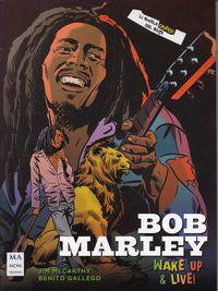 BOB MARLEY - LA NOVELA GRAFICA DEL ROCK