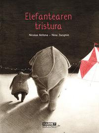 Elefantearen Tristura - Niccolas Antona / Nina Jacqmin (il. )