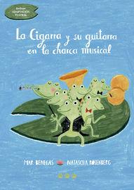 CIGARRA Y SU GUITARRA EN LA CHARCA MUSICAL, LA