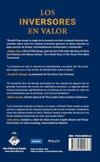 (2 ED) INVERSORES EN VALOR, LOS