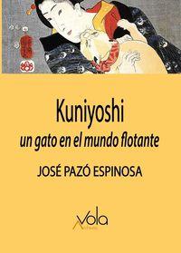 KUNIYOSHI - UN GATO EN EL MUNDO FLOTANTE