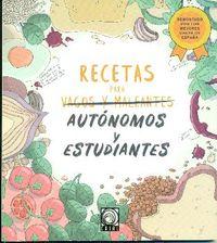 RECETAS PARA AUTONOMOS Y ESTUDIANTES