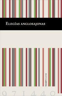ELEGIAS ANGLOSAJONAS