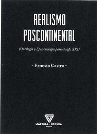 REALISMO POSCONTINENTAL - ONTOLOGIA Y EPISTEMOLOGIA PARA EL SIGLO XXI