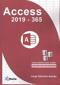 ACCESS 2019-365 - CURSO PRACTICO PASO A PASO