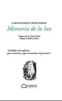 MEMORIA DE LA LUZ