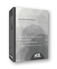Tribunal Constitucional Y Fines De La Prision Provisional - Jose Antonio Alonso Fernandez