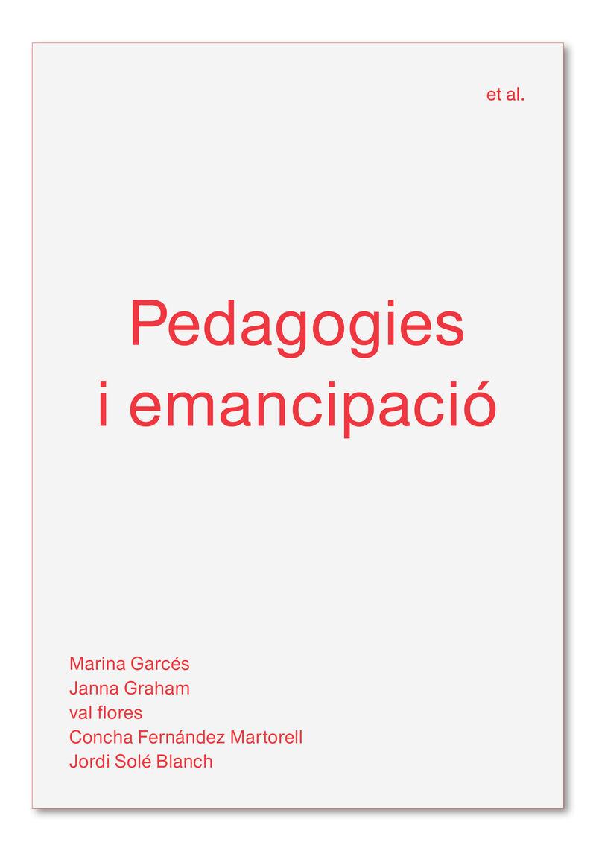 PEDAGOGIES I EMANCIPACIO