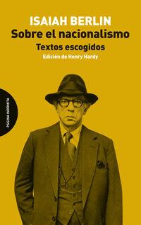 SOBRE EL NACIONALISMO - TEXTOS ESCOGIDOS