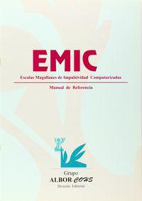 EMIC - ESCALA MAGALLANES DE IMPULSIVIDAD COMPUTARIZADA