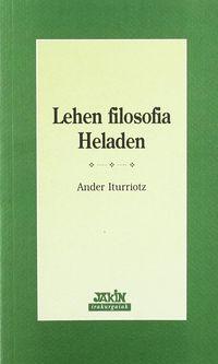 LEHEN FILOSOFIA HELADEN