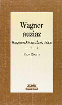 Wagner Auziaz - Hedoi Etxarte