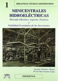 Minicentrales Hidroelectricas - German  Martinez Montes  /  M. Del Mar  Serrano Lopez