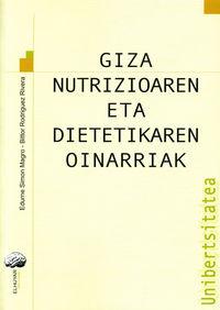 GIZA NUTRIZIOAREN ETA DIETETIKAREN OINARRIAK