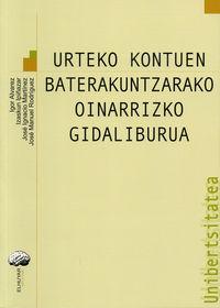 URTEKO KONTUEN BATEKUNTZARAKO OINARRIZKO GIDALIBURUA