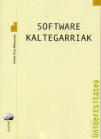 SOFTWARE KALTEGARRIAK