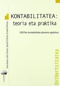KONTABILITATEA - TEORIA ETA PRAKTIKA