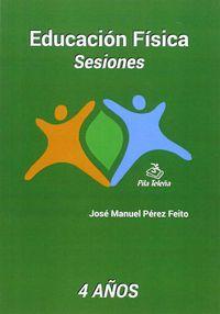 EDUCACION FISICA - SESIONES (4 AÑOS)