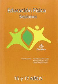 EDUCACION FISICA - SESIONES 16 Y 17 AÑOS