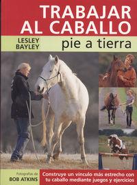 TRABAJAR AL CABALLO PIE A TIERRA
