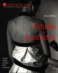 CUADERNOS DE MODA - ESTUDIO Y PRODUCTOS