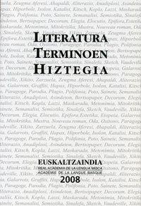 LITERATURA TERMINOEN HIZTEGIA