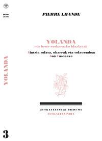 Yolanda Eta Beste Euskarazko Idazlanak - Pierre Lhande