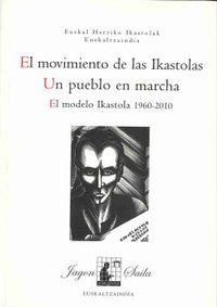 El  movimiento de las ikastolas  -  Un Pueblo En Marcha - Aa. Vv.