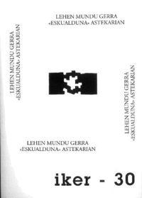 Lehen Mundu Gerra Eskualduna Astekarian - Eneko Bidegain