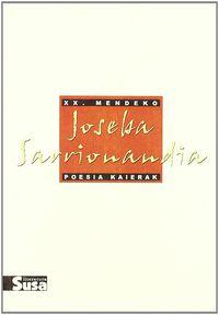 JOSEBA SARRIONANDIA - XX. MENDEKO POESIA KAIERAK